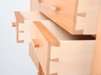 handmade cabinet by Grant Sonnex - furniture designer and maker