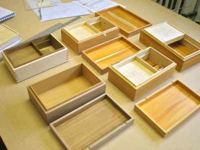 handmade jewellery box by Grant Sonnex - furniture designer and maker