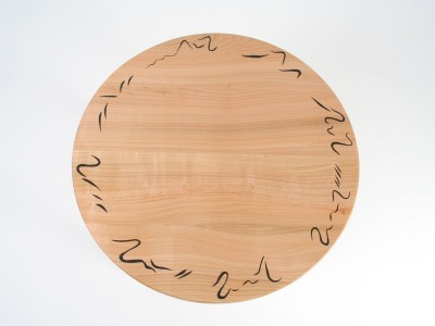 bespoke occasional table by Grant Sonnex - furniture designer and maker