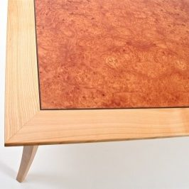bespoke coffee table by Grant Sonnex - furniture designer and maker