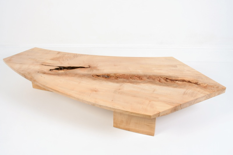 Wild River - sycamore coffee table