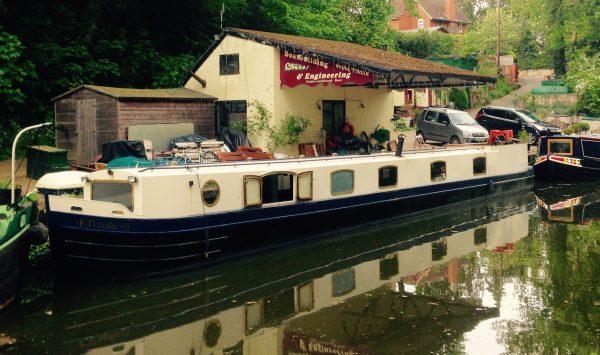 Rose Amelia at Knowle Hall Wharf May 16 - 1 (1)