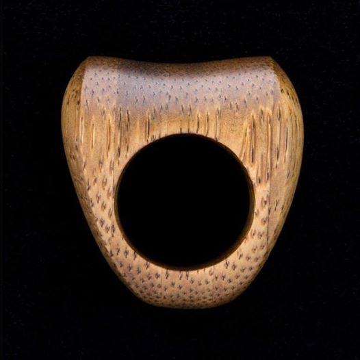Kevin Woolgar carved ring